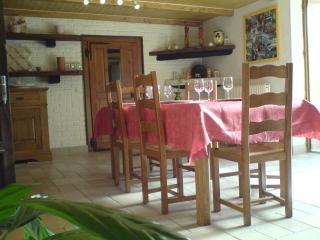 chambre hote table